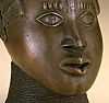 Commemorative trophy head, Edo peoples