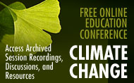 Smithsonian Education Online Conference: Climate Change